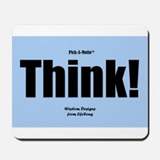 Think Mousepad