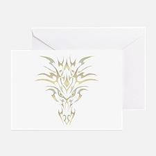 Golden Dragon 1 Greeting Cards (Pk of 10)