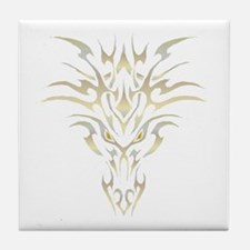 Golden Dragon 1 Tile Coaster