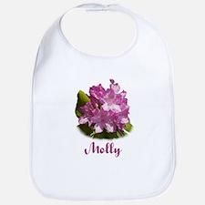 Molly: Purple Flower Bib