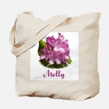 Molly: Purple Flower Tote Bag