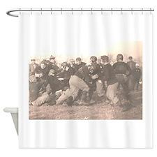Football_leatherheads Shower Curtain