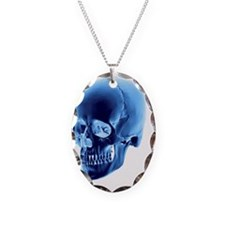 Skull, computer artwork - Necklace