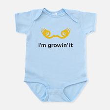 I'm Growin' It Infant Bodysuit