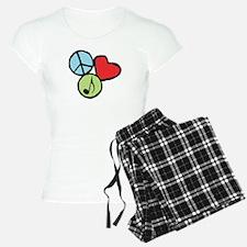 Peace, Love, Music Pajamas
