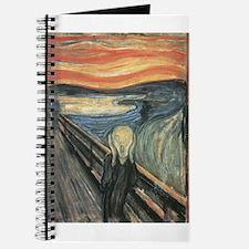 The Scream painting Journal