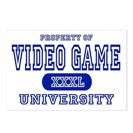 Video Game University Postcards (Package of 8)