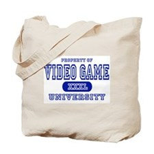 Video Game University Tote Bag