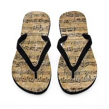 Cute Mozart Flip Flops