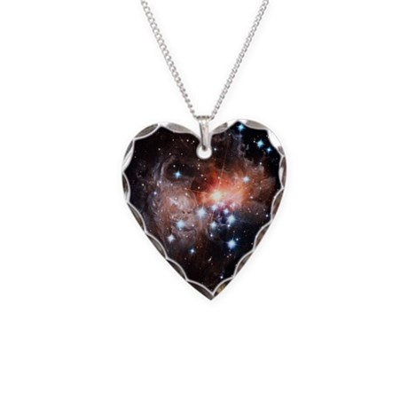 38 Monocerotis - Necklace Heart Charm