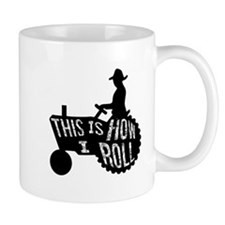 This is How I Roll Tractor Small Mugs