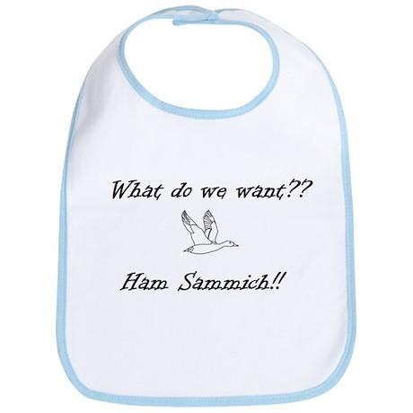 Ham Sammich! Bib
