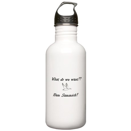 Ham Sammich! Water Bottle