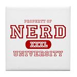 Nerd University Tile Coaster