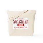 Nerd University Tote Bag