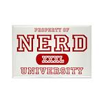 Nerd University Rectangle Magnet