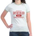 Nerd University Jr. Ringer T-Shirt