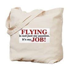 It's a JOB! (red) Tote Bag