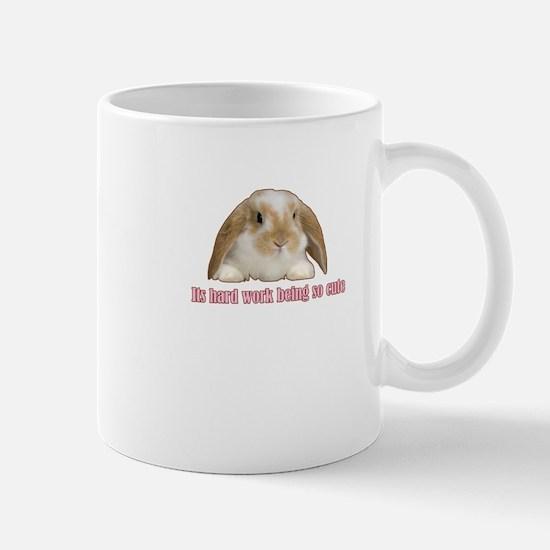 Its hard work being so cute Mug