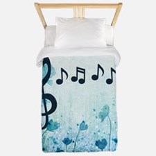 Music Notes Twin Duvet