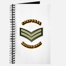 UK - Army - Corporal Journal