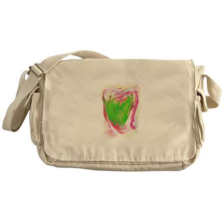 Heart Love Messenger Bag