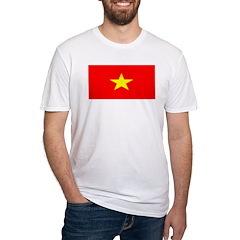Vietnam Vietnamese Blank Flag Shirt