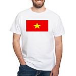 Vietnam Vietnamese Flag White TShirt