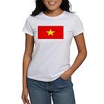Vietnam Vietnamese Blank Flag Women's T-Shirt