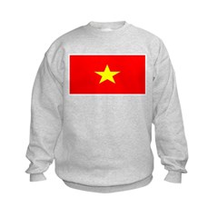 Vietnam Vietnamese Blank Flag Sweatshirt