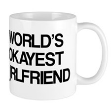 World's Okayest Girlfriend Mug