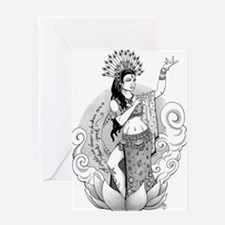 Goddess of the Dance Greeting Card