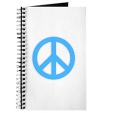 Neon Peace Sign Journal