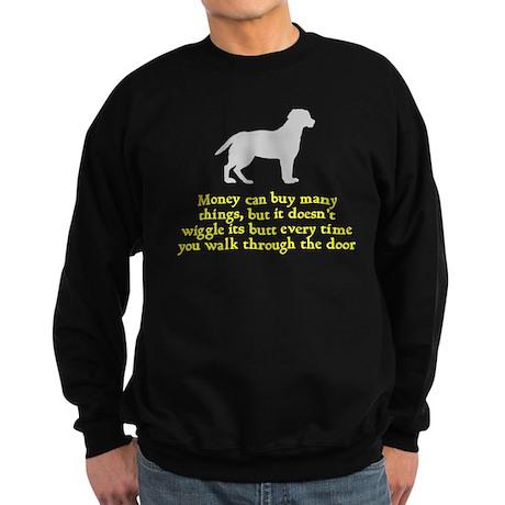 Dog Wiggle Its Butt Sweatshirt (dark)