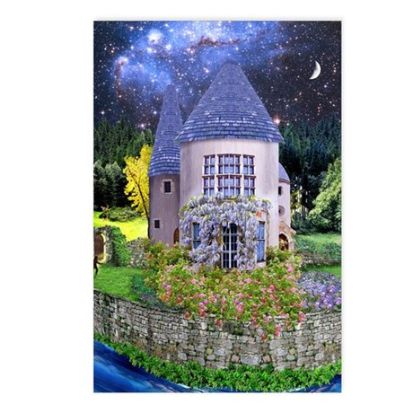 A Make-Believe House Postcards (Package of 8)