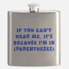 Parenthesis - Writing Flask