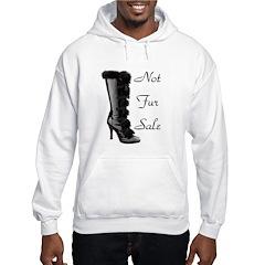 Not Fur Sale Hoodie