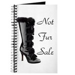 Not Fur Sale Journal