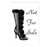 Not Fur Sale Postcards (Package of 8)