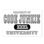 Code Junkie University Postcards (Package of 8)
