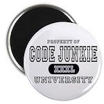 Code Junkie University Magnet