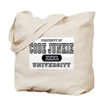 Code Junkie University Tote Bag