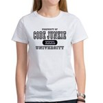 Code Junkie University Women's T-Shirt