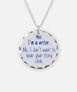 Writers and Story Ideas Necklace