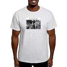 Hole snipe Ash Grey T-Shirt