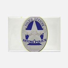 Irving Police Rectangle Magnet