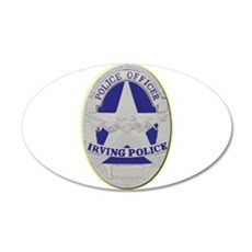 Irving Police Wall Decal