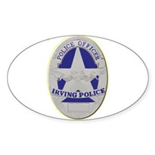 Irving Police Decal