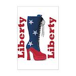 Liberty Mini Poster Print