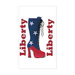 Liberty Rectangle Sticker